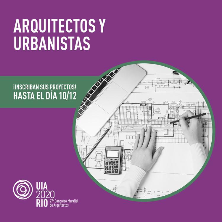 UIA2020RIO: Convocatoria de Proyectos, UIA2020RIO