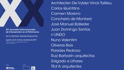 XX Jornadas Internacionales de Intervención en el Patrimonio