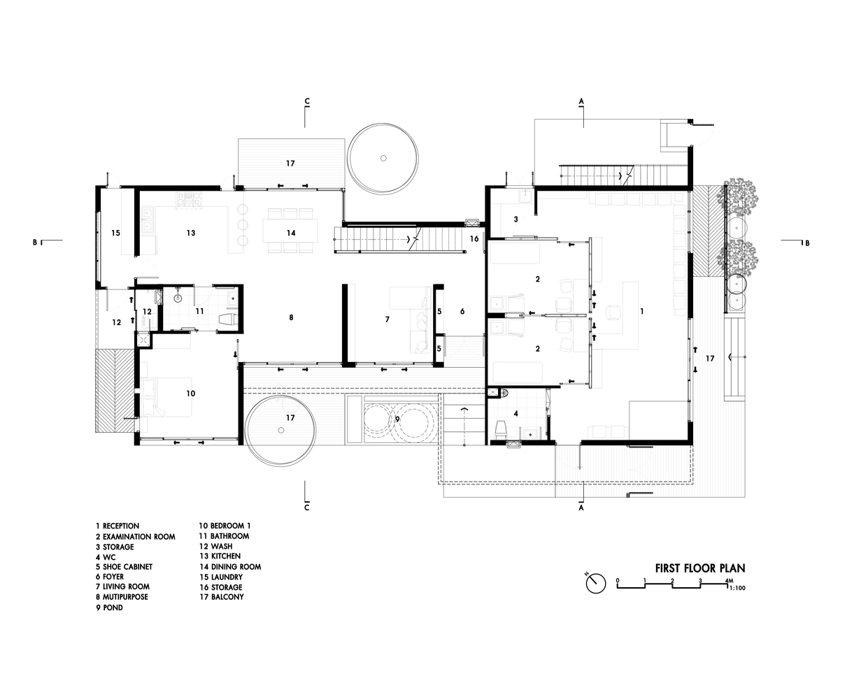 Gallery Of Petchaburi Private Residence Clinic A Vision Group 23