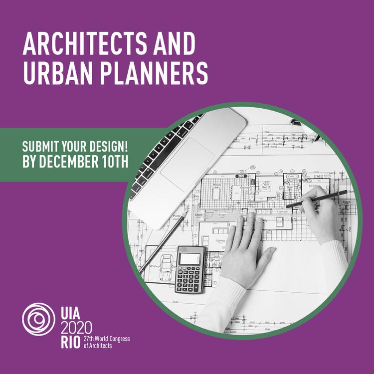 UIA2020RIO - Call for Design Works, UIA2020RIO