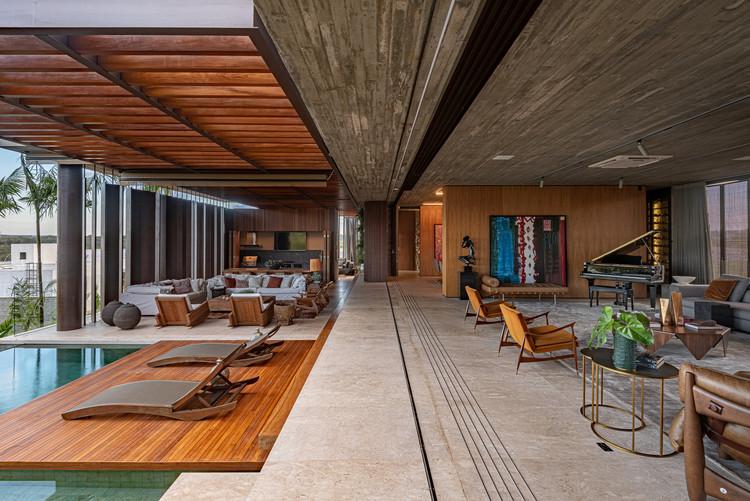 Casas brasileiras: 14 residências com grandes vãos, Casa Corten / Costaveras Arquitetos. Imagem: © Studio Ode