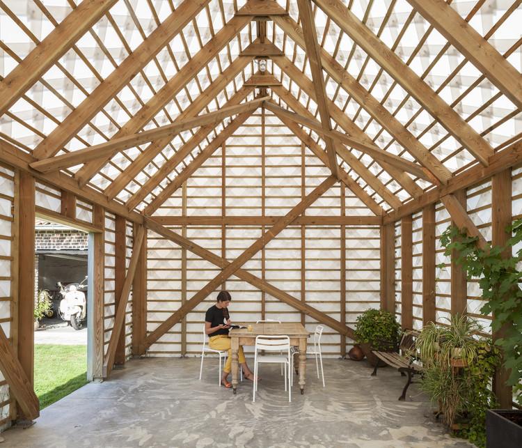 Garden Room / Atelier Janda Vanderghote, © Tim Van de Velde