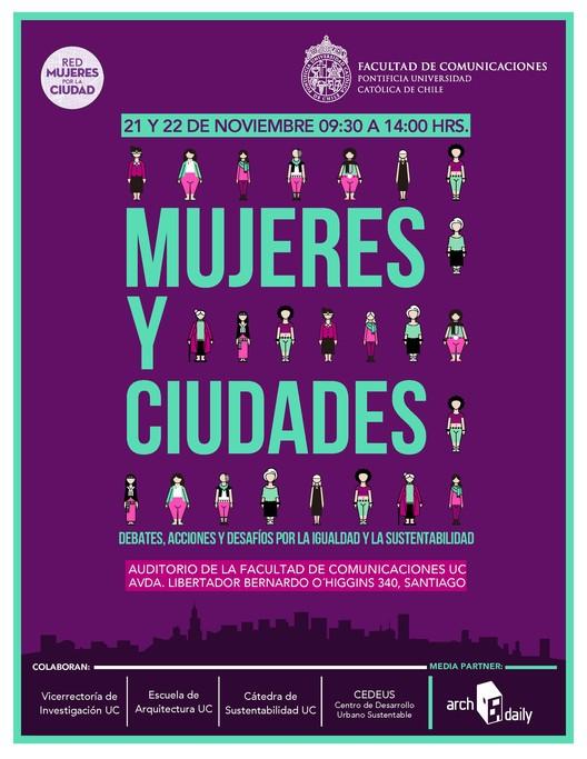 Seminario Internacional Mujeres y Ciudades: debates, acciones y desafíos por la igualdad y la sustentabilidad