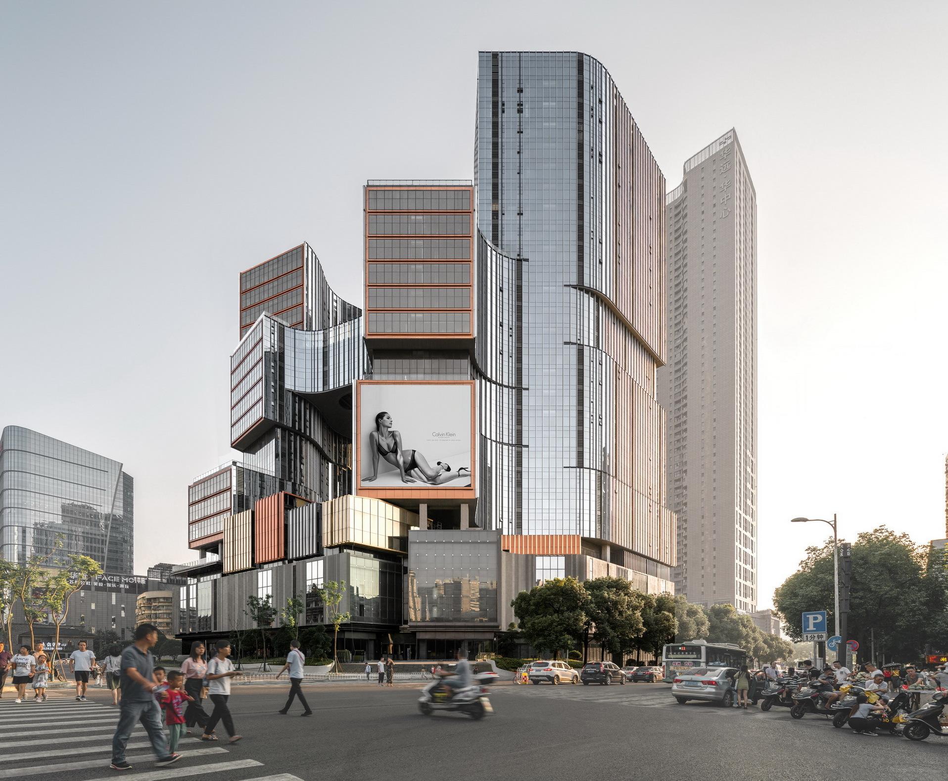 Yunxi Urban Complex / Aedas