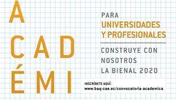 Convocatoria Académica Bienal de Quito 2020