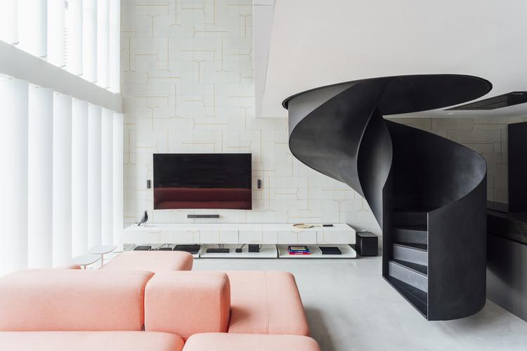 Apartamentos brasileiros: 10 lofts e apartamentos duplex, © Cristiano Bauce