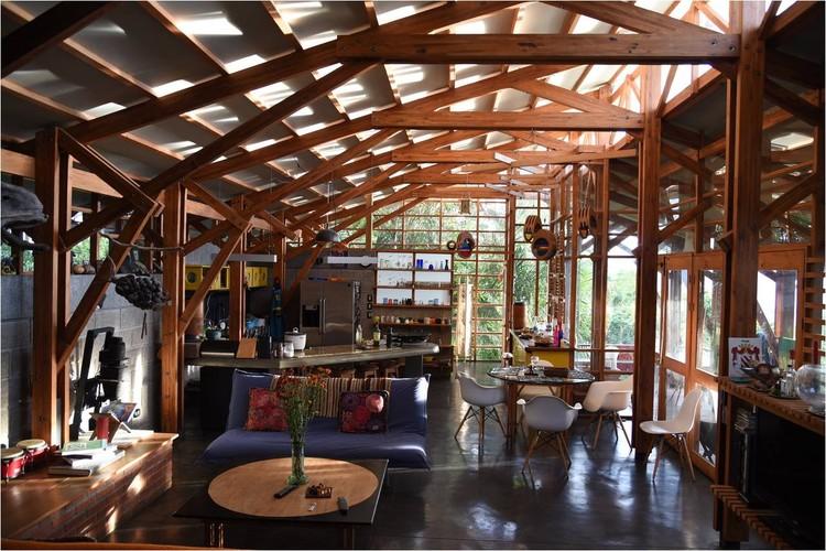 © Sergio Pucci. ImageGreen life house / Pietro Stagno-Luz Letelier. Ubicación: Escazú, Costa Rica, 2003