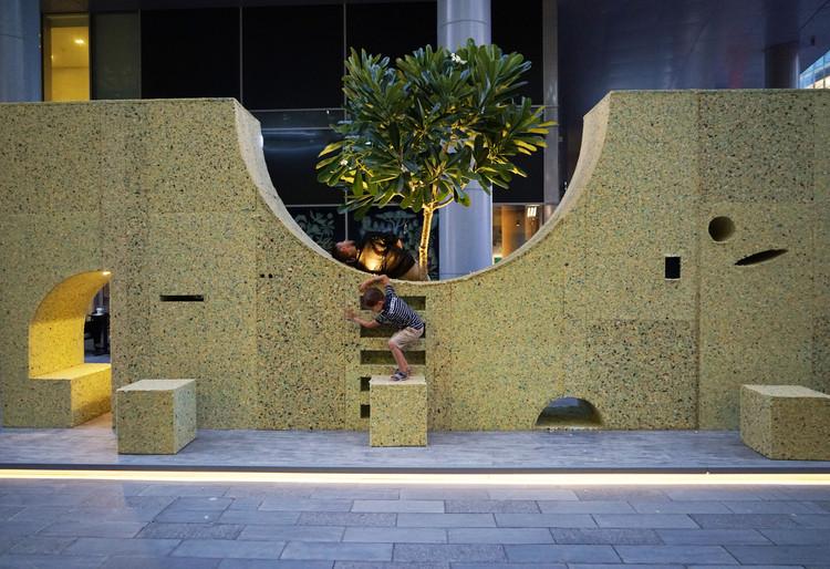 WAL(L)TZ  Installation  / T SAKHI Architects, Courtesy of T SAKHI Architects
