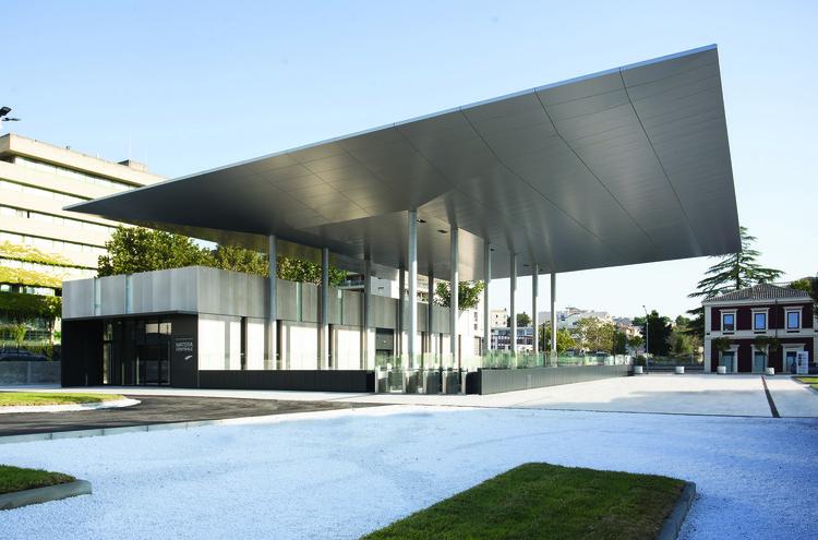 Stefano Boeri Architetti's New Train Station Opens in Southern Italy, Courtesy of Stefano Boeri Architetti