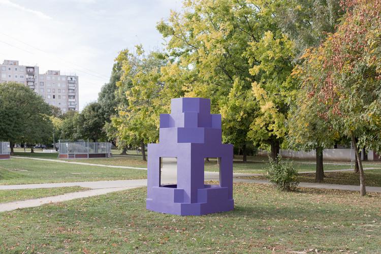 Haszkovó Housing Estate Re-imagined as Vibrant Urban Installations , © Balázs Danyi