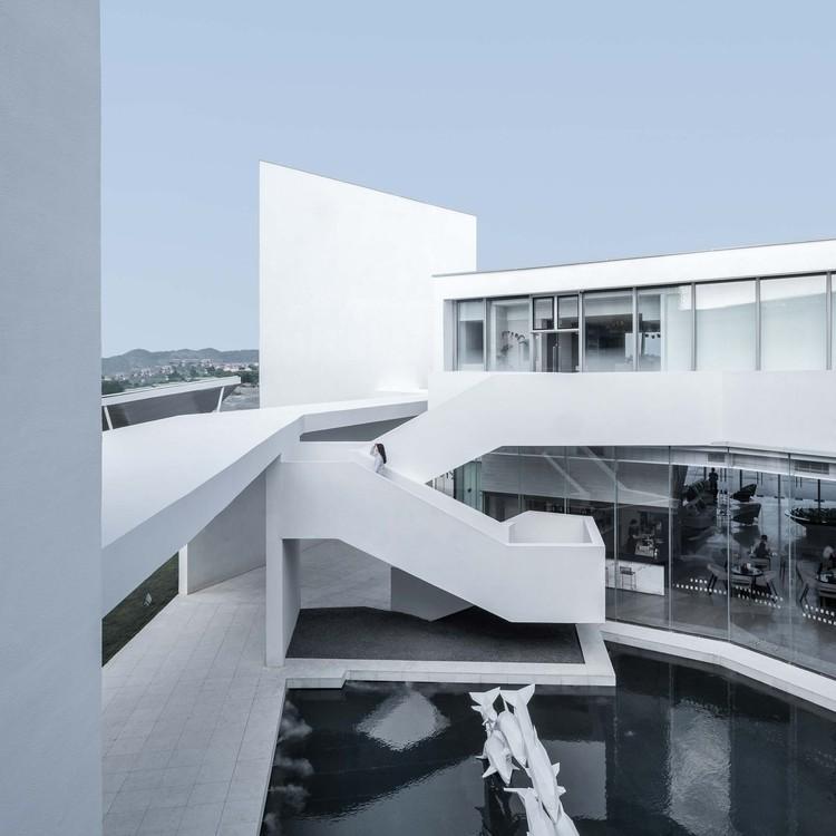 Media Future Center / XAA, courtyard. Image © Ripei Qiu
