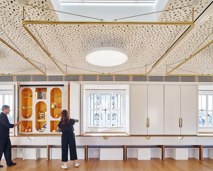 RIBA Clore Learning Centre / Hayhurst and Co., © Kilian O'Sullivan