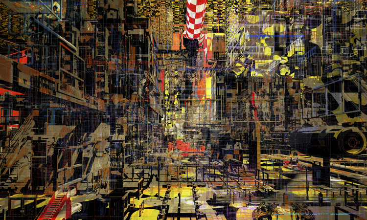 World Architecture Festival Announces Winners of The Architecture Drawing Prize 2019, Anton Markus Pasing, 'City in a box: paradox memories', overall winner of the 2019 Architecture Drawing Prize