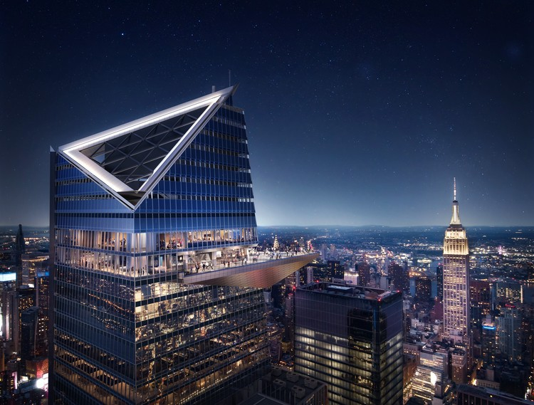 Highest Outdoor Sky Deck in the Western Hemisphere Set to Open in 2020 , Courtesy of Related Oxford