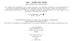 L'ATELIER presenta VAVA eyewear x Álvaro Siza Viera