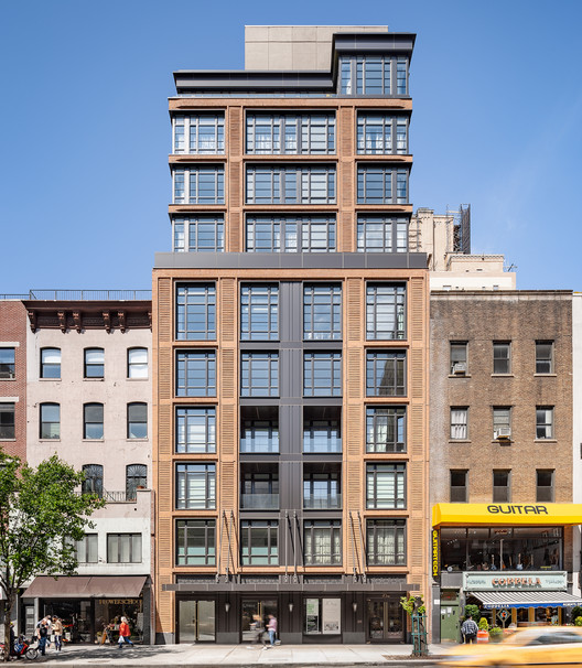 The d'Orsay Residential Building / Hill West Architects