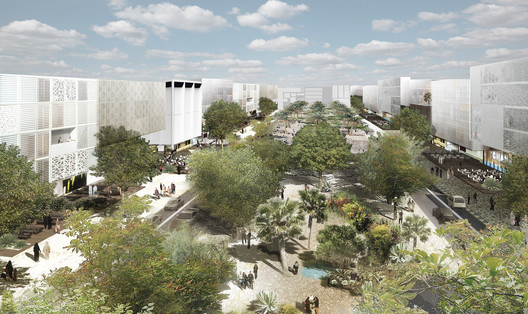 OMA Unveil Major Education Masterplan in Dubai
