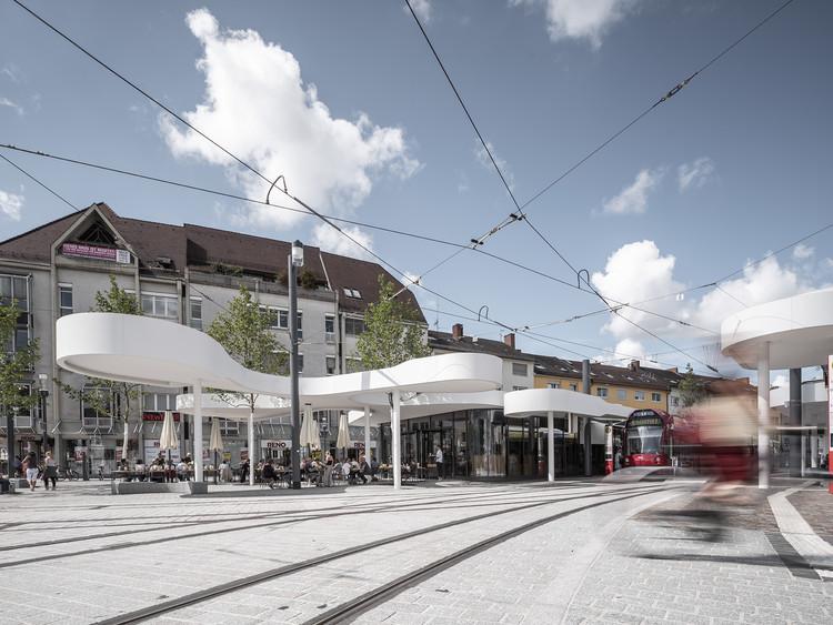 Pavilion on Europaplatz  / J. Mayer H, © David Franck