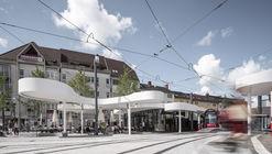 Pavilion on Europaplatz  / J. Mayer H