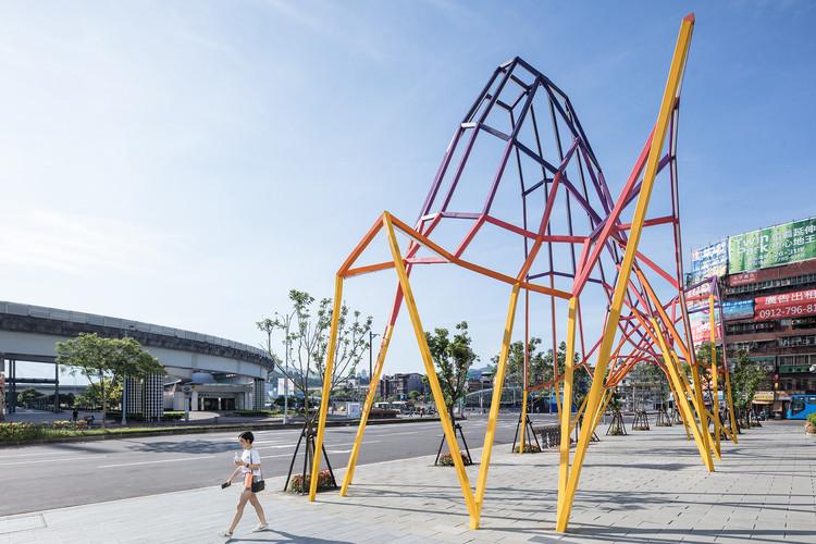 FAHR 021.3 constrói instalação permanente inspirada na topografia de Taiwan, © Yuchen Chao