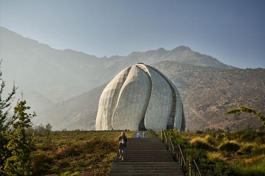 Bahá'í Temple of South America. Image © doublespace photography