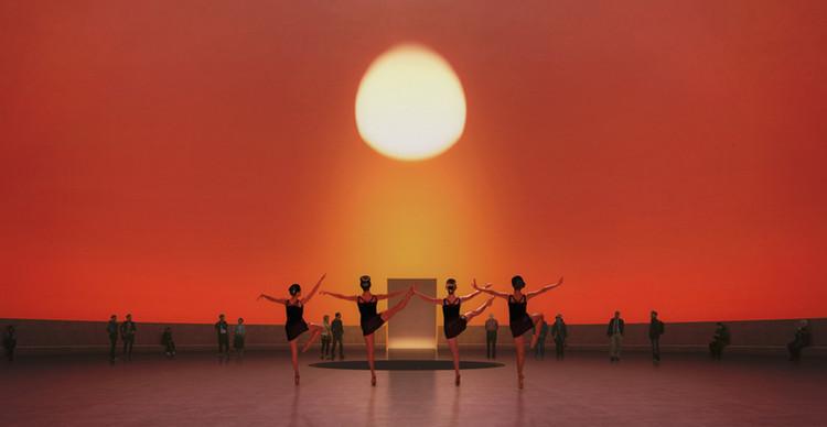 El artista James Turrell iluminará las galerías del Museo Jumex en la Ciudad de México, Rising Sun. Image Cortesía de Schmidt Hammer Lassen Architects