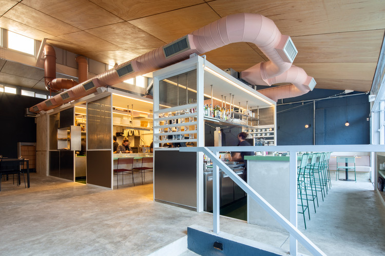 Restaurante Corrutela / vapor arquitetura, © Pedro Napolitano Prata