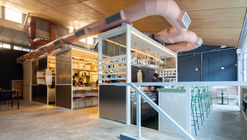 Restaurante Corrutela / vapor arquitetura