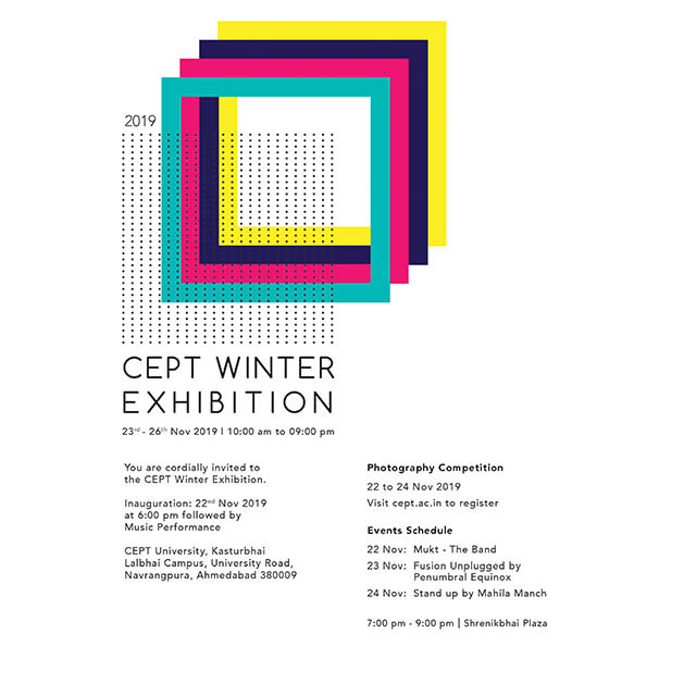 CEPT Winter Exhibition 2019, CEPT Winter Exhibition 2019