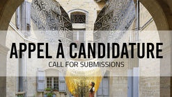 Call for Submission Festival des Architectures Vives 2020