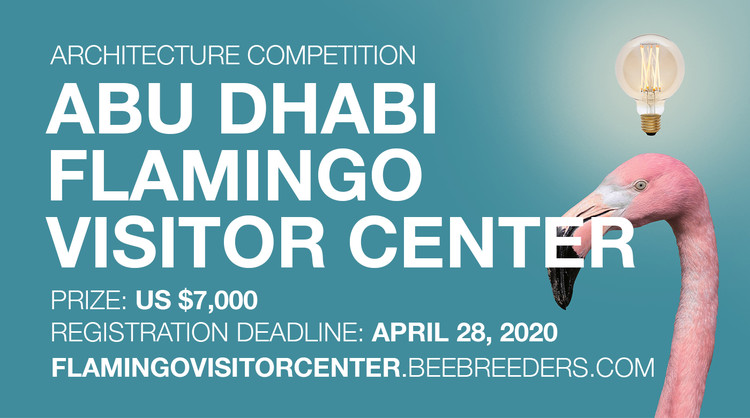 Abu Dhabi Flamingo Visitor Centre, Enter the Abu Dhabi Flamingo Visitor Centre ‪Architecture‬Competition‬ now! US $7,000 in prize money! Closing date for registration: APRIL 28, 2020