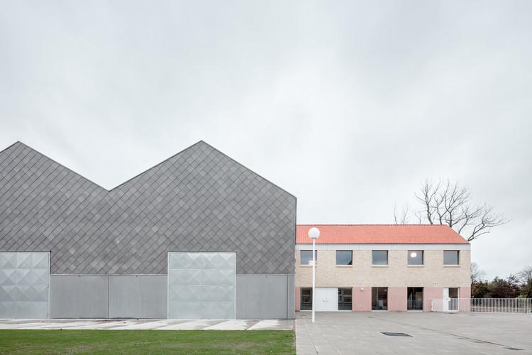 Elementary School Zarren / FELT, © Stijn Bollaert