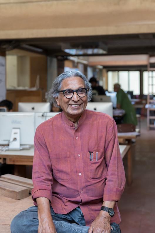 """Architecture is an Extension of Life"": An Interview with Balkrishna Doshi, © Iwan Baan"