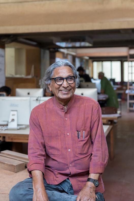 """""""Arquitetura é uma extensão da vida"""": uma entrevista com Balkrishna Doshi, © Iwan Baan"""