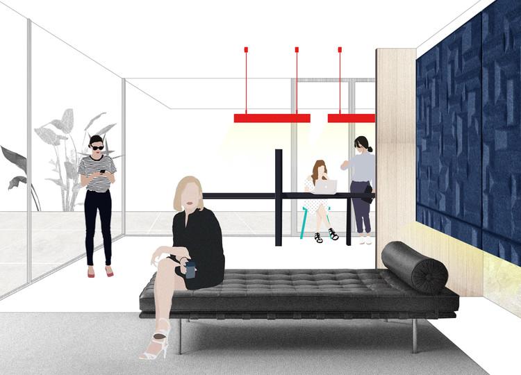 Tendencias: Diseños innovadores para Oficinas, Cortesía de ArchDaily /  Danae Santibáñez