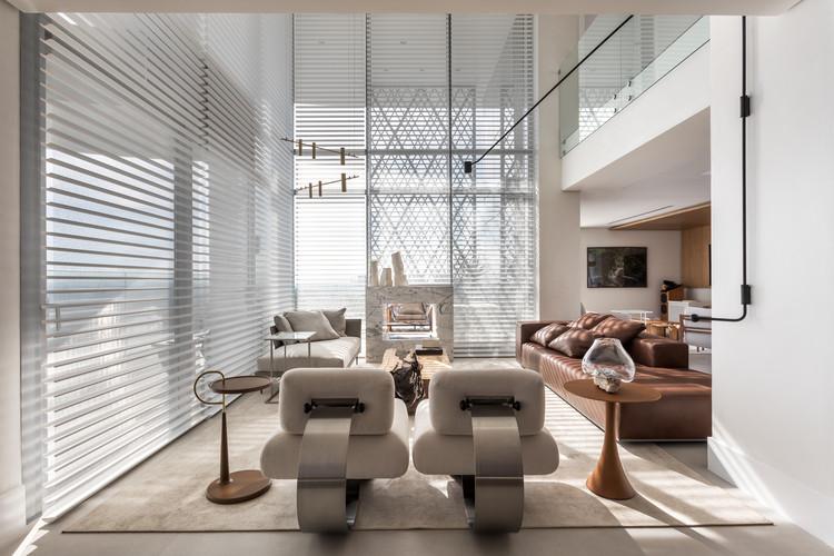 Apartamento Parque / Giuliano Marchiorato Arquitetos, © Eduardo Macarios