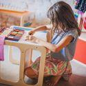 Cadeira Cubo. Image Cortesia de Cuchi Móveis Infantis