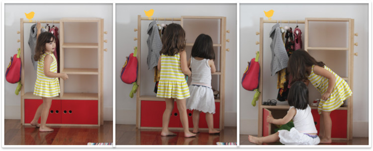 Armário Xá Comigo. Image Cortesia de Cuchi Móveis Infantis