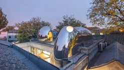 Renovação Urbana Hutong Bubble 218 / MAD Architects