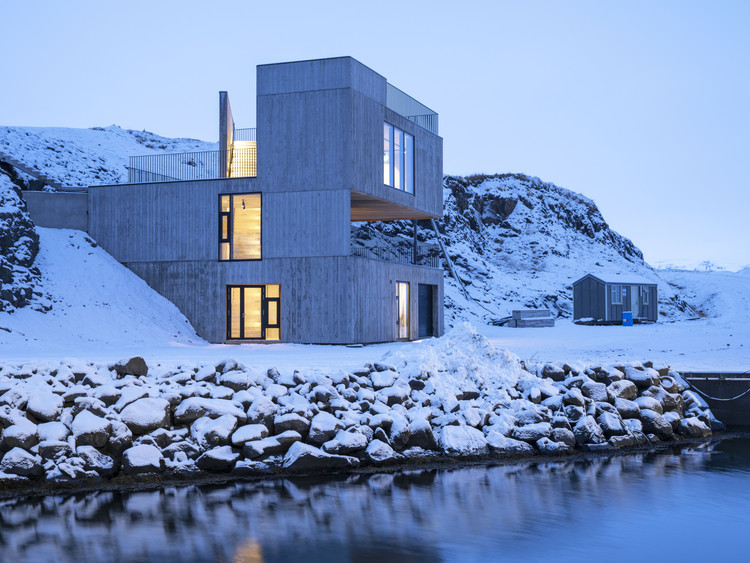 Visitor Centre in Iceland / Andersen & Sigurdsson Architects, © Christopher Lund