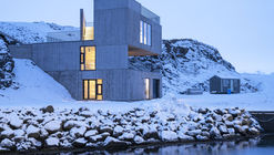 Visitor Centre in Iceland / Andersen & Sigurdsson Architects