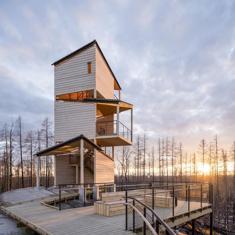 Hälleskogsbrännan Visitor Center / pS Arkitektur, © Jason Strong Photography