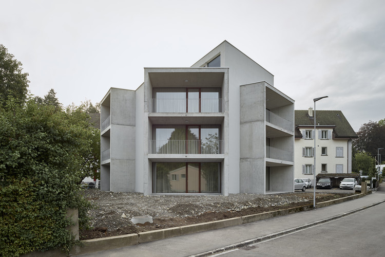 Apartment Building / Gautschi Lenzin Schenker Architects, © Andreas Graber
