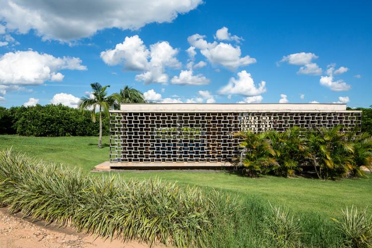 Refeitório e Vestiário / Bruno Rossi Arquitetos + André Scarpa, © André Scarpa