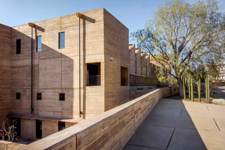 Edificio del Archivo Histórico del Estado de Oaxaca, ganador del Premio de Arquitectura Española Internacional 2019, © Élena Marini Silvestri