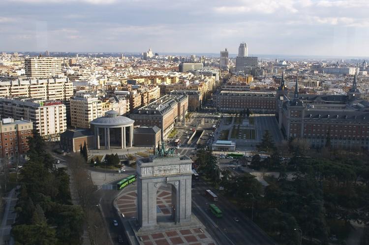 COP25: arquitectos españoles promueven la transformación de ciudades y entornos urbanos para frenar el cambio climático, Madrid. Image © Wikipedia user: Barcex Licensed under CC BY-SA 2.5