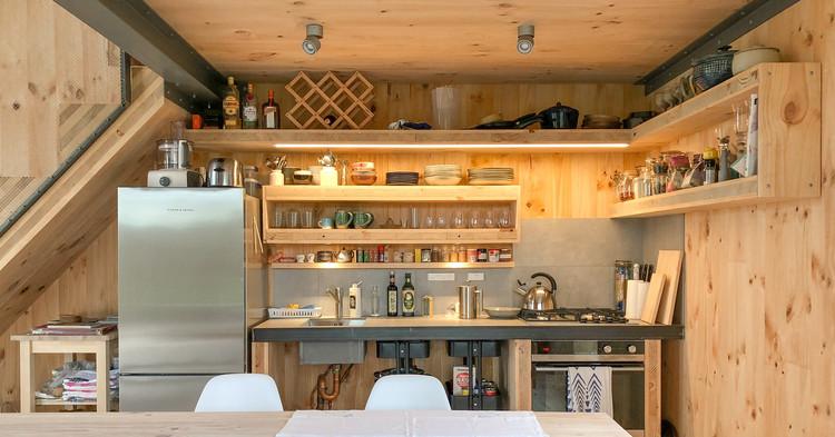 AB Studio Cabin / Copeland Associates Architects. Image Courtesy of Copeland Associates Architects