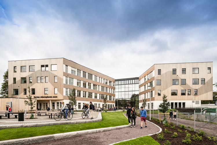 Horten Upper Secondary School / LINK arkitektur, © Hundven-Clements Photography