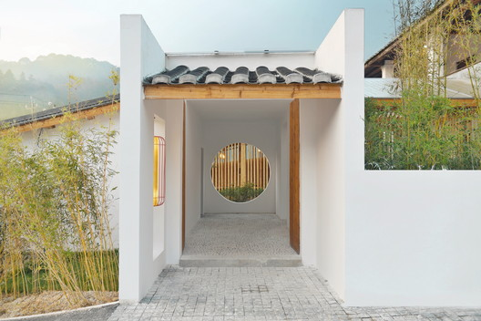 Main entrance. Image © Hainan Guo