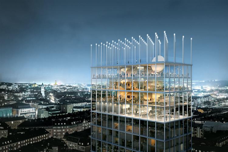 Tham & Videgård Win Competition to Design +One Tower in Sweden, Courtesy of Tham & Videgård